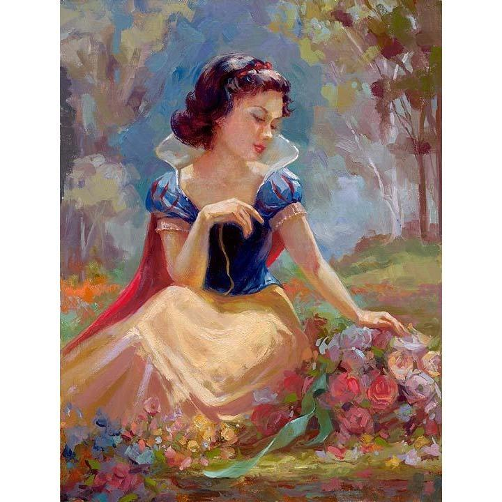 Disney Fine Art Gathering Flowers
