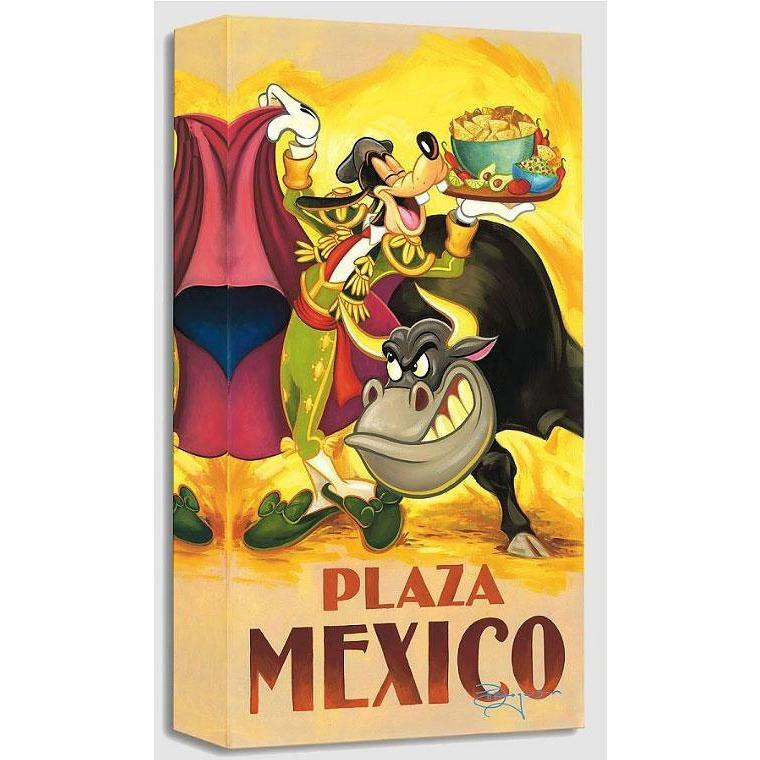 Disney Fine Art Goofy's Plaza Mexico