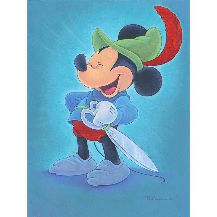 Disney Fine Art Happy Hero