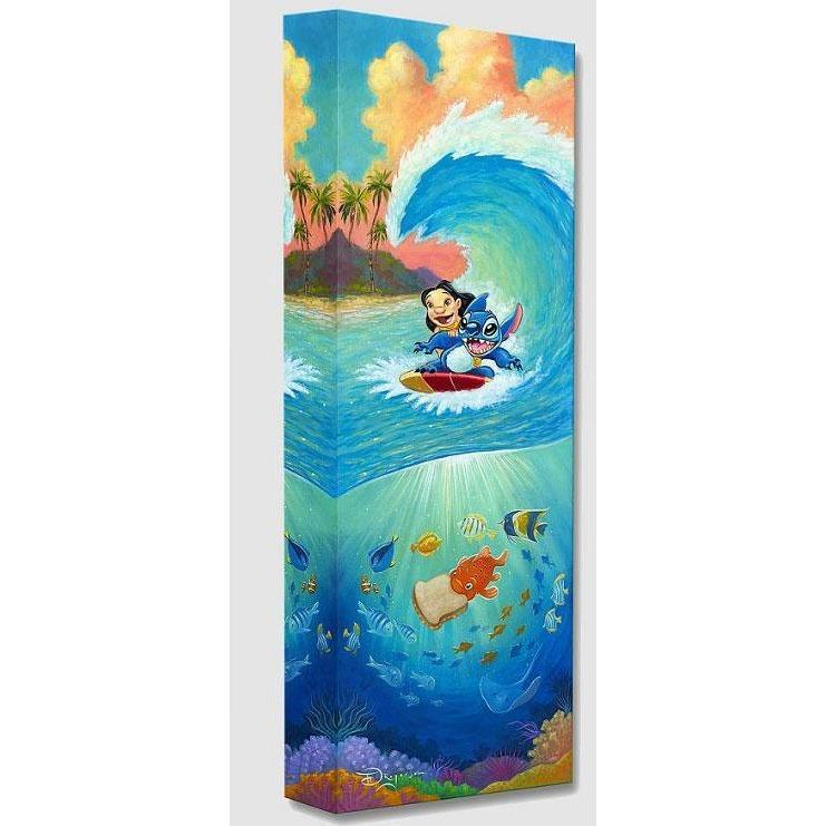 Disney Fine Art Hawaiian Roller Coaster
