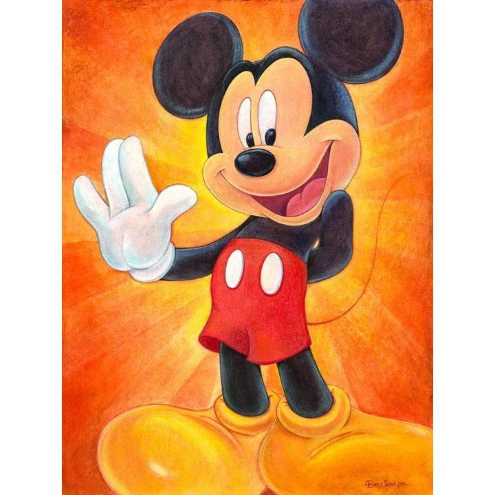 Disney Fine Art Hi I'm Mickey Mouse