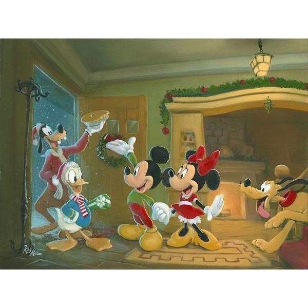 Disney Fine Art Home for the Holidays