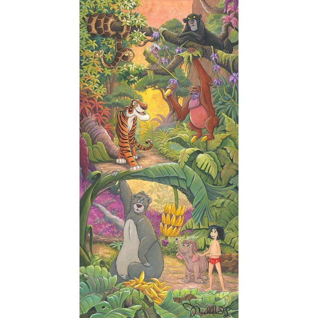 Disney Fine Art Home in the Jungle