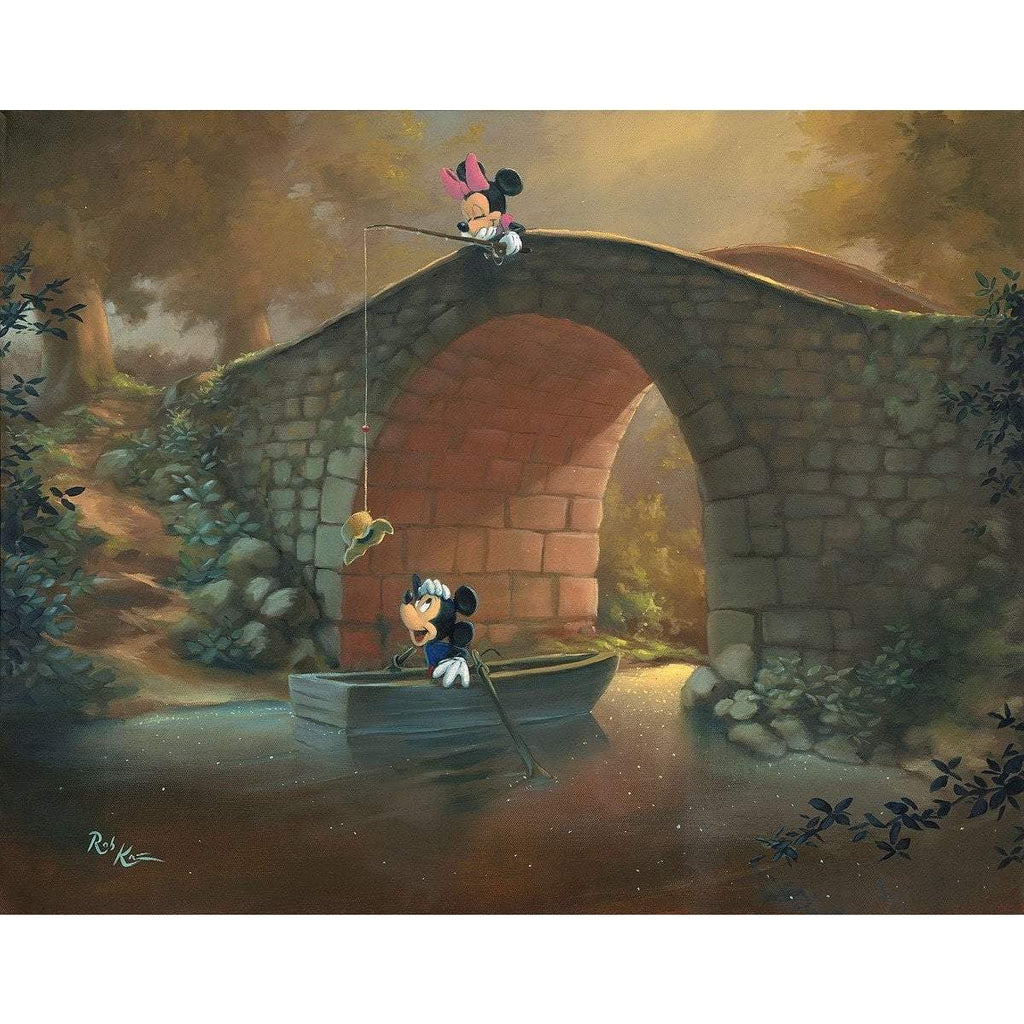 Disney Fine Art Hooked on You