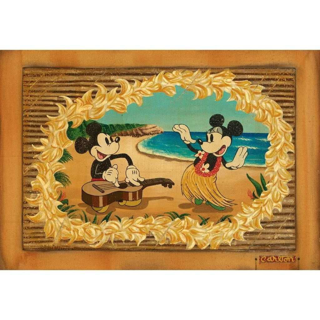 Disney Fine Art Hula In Paradise