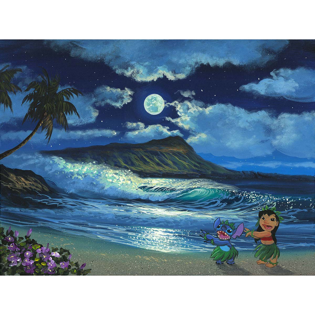 Disney Fine Art Hula Moon