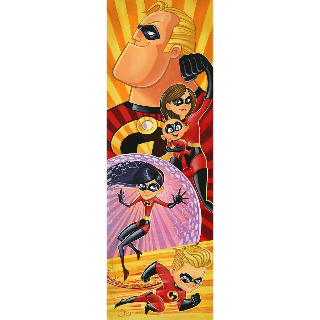 Disney Fine Art Incredibles to the Rescue
