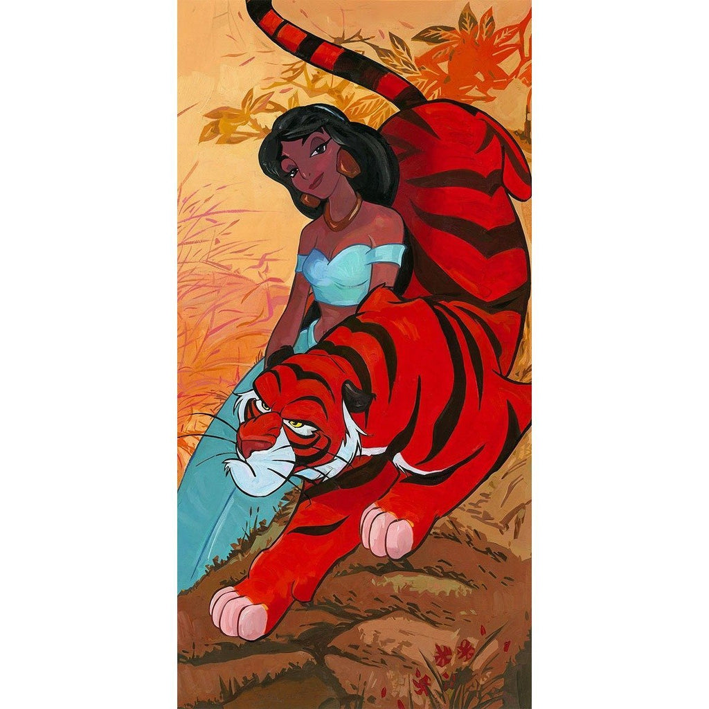 Disney Fine Art Jasmine's Fierce Protector