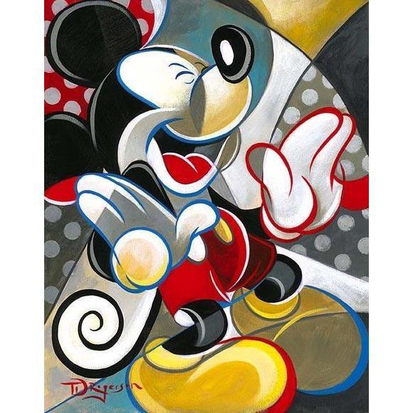 Disney Fine Art Knee Slapper