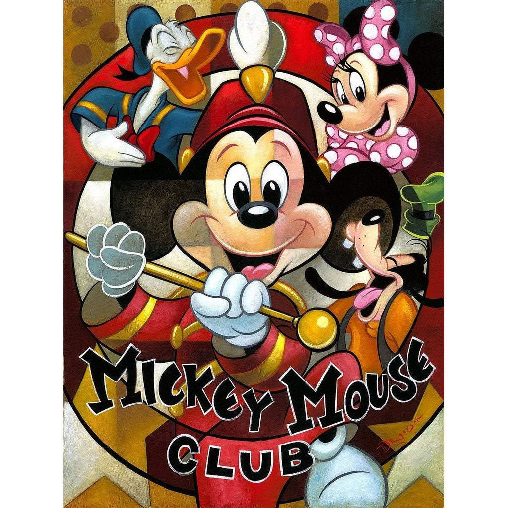 Disney Fine Art Leader Of The Club
