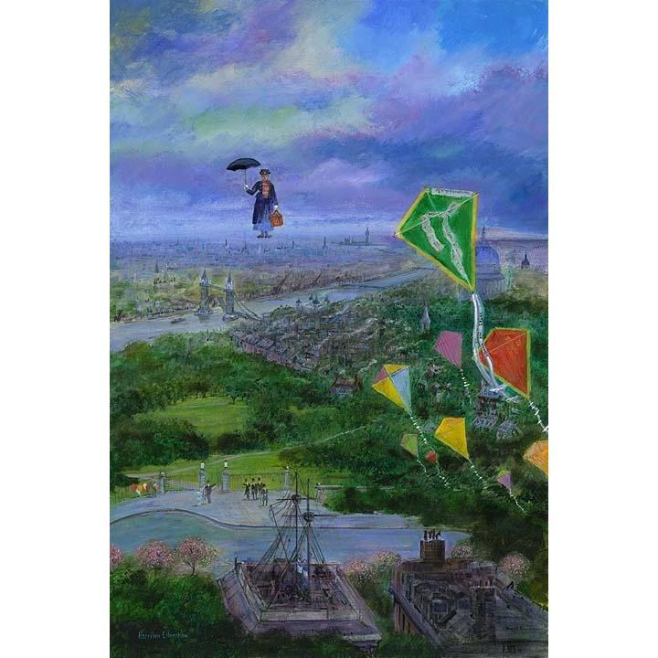 Disney Fine Art Let's Go Fly A Kite