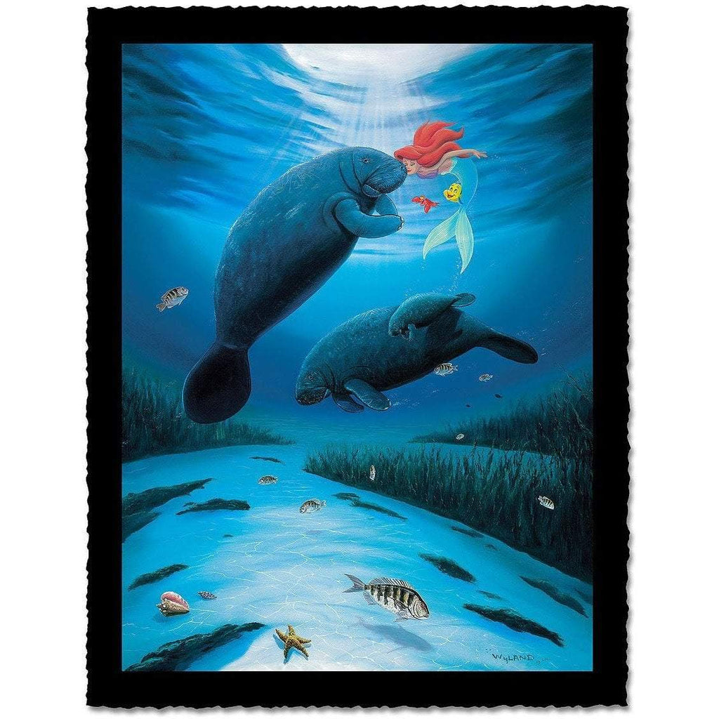 Disney Fine Art Little Mermaid Love