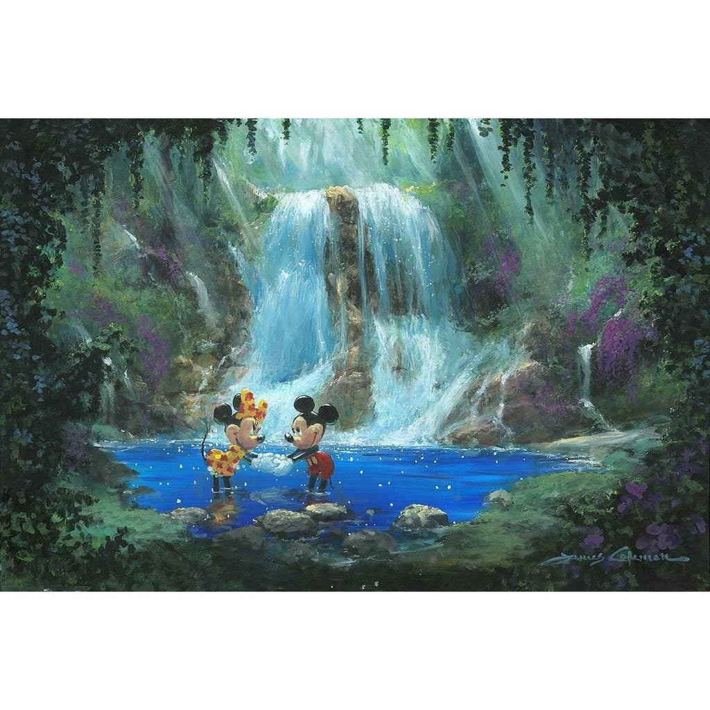 Disney Fine Art Love in the Rainforest