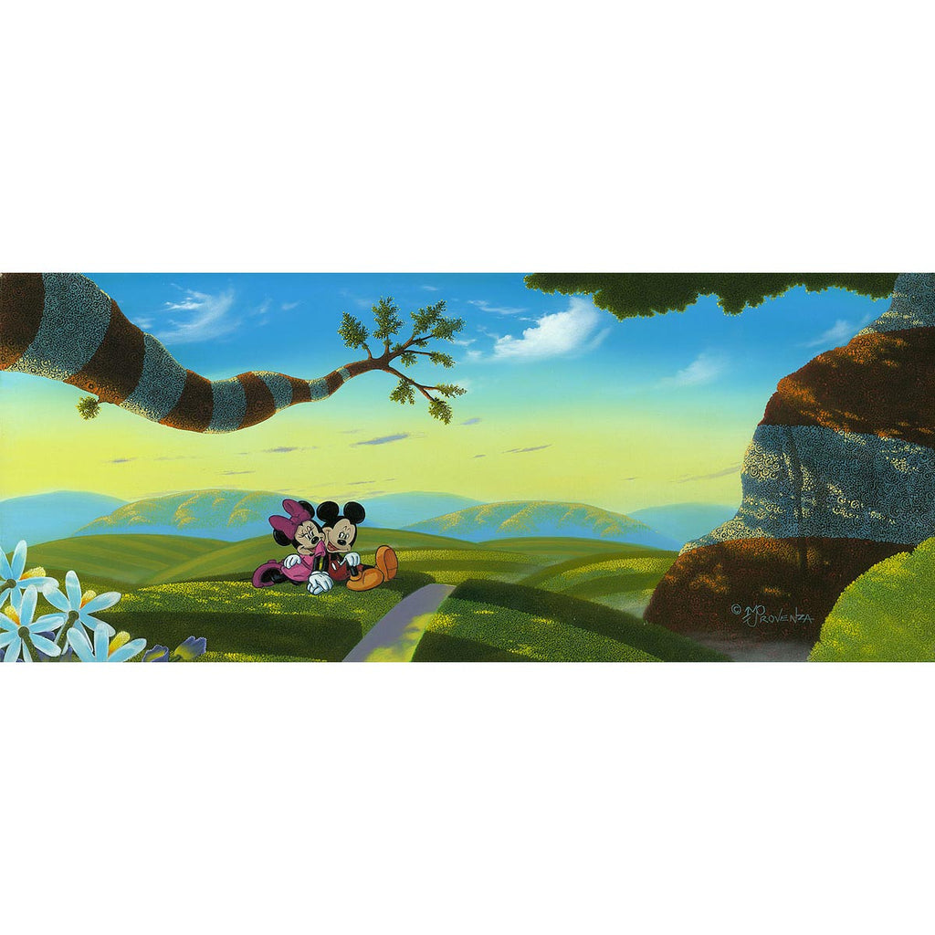 Disney Fine Art - Lovin' a New World