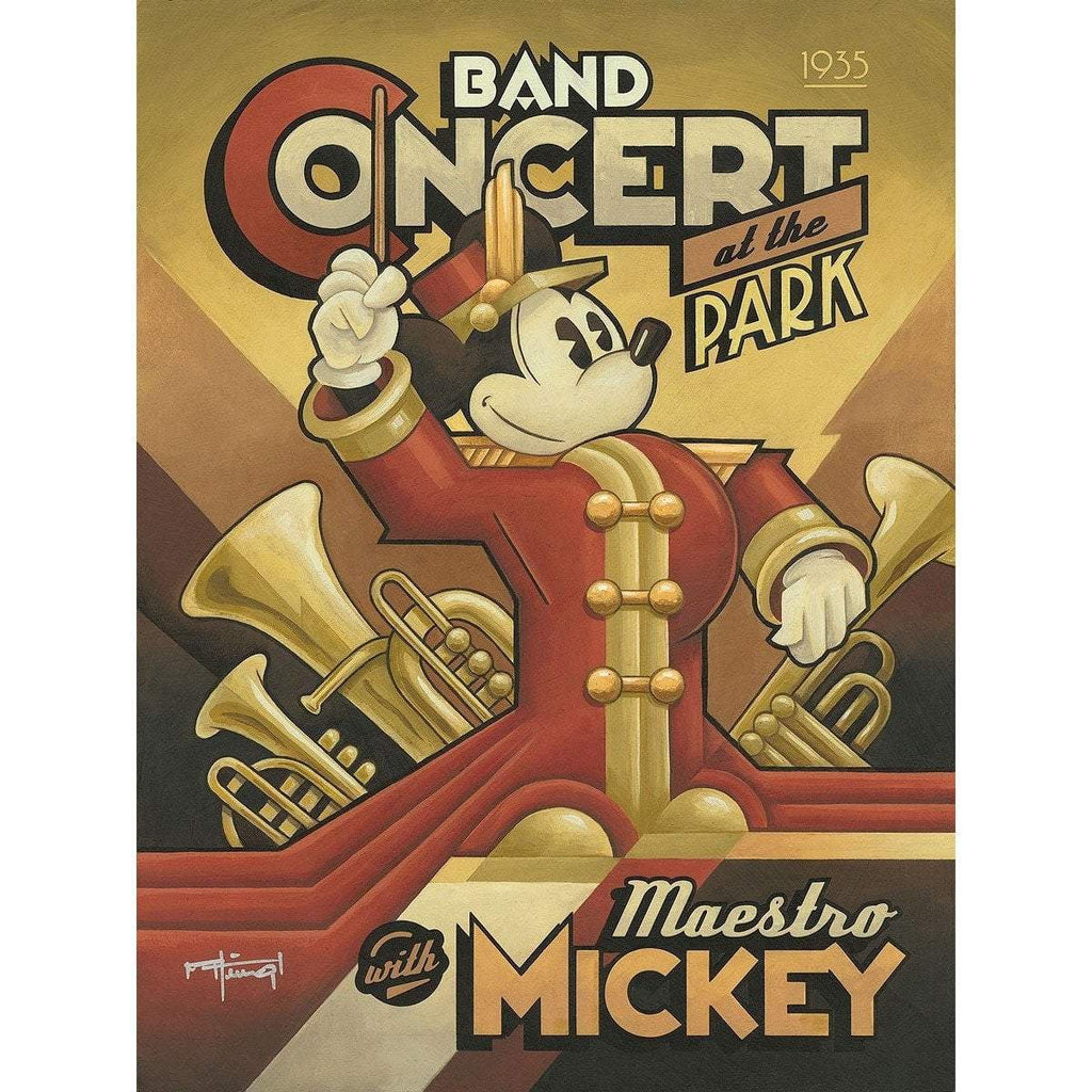 Disney Fine Art Maestro Mickey's Band Concert