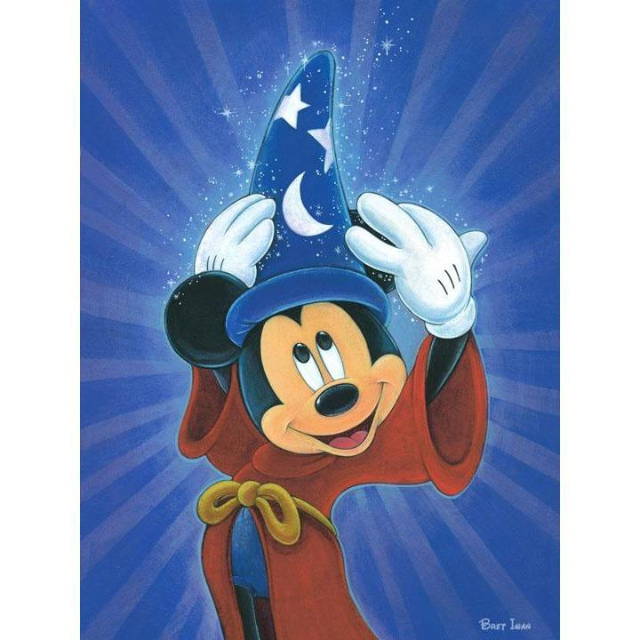 Disney Fine Art Magic is in the Air