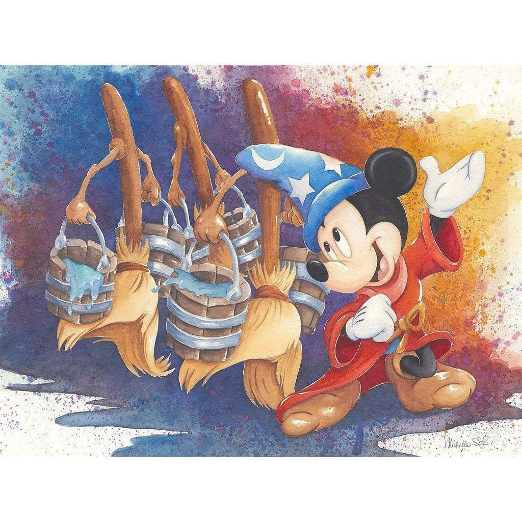 Disney Fine Art Magical March