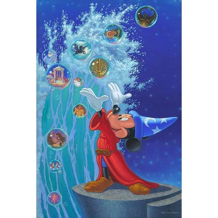 Disney Fine Art Magical Sea