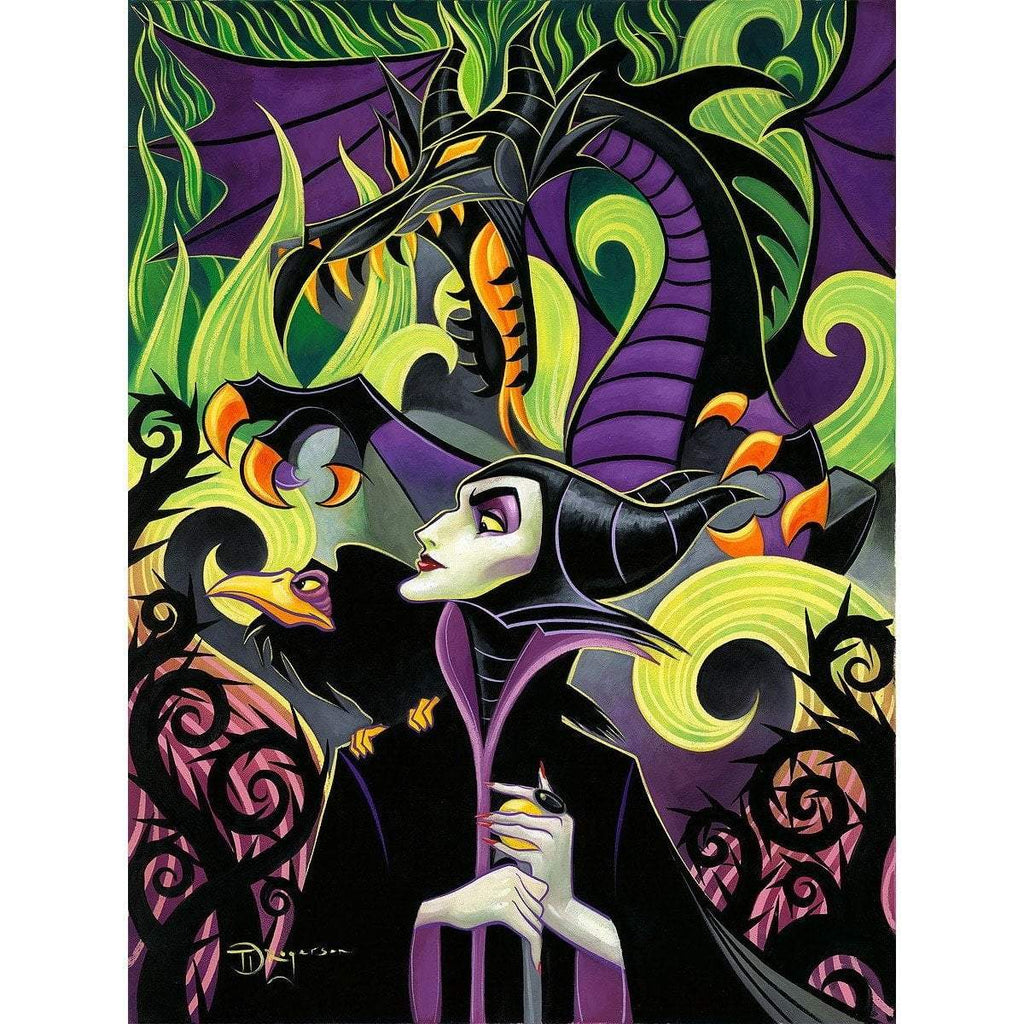 Disney Fine Art Maleficent's Fury