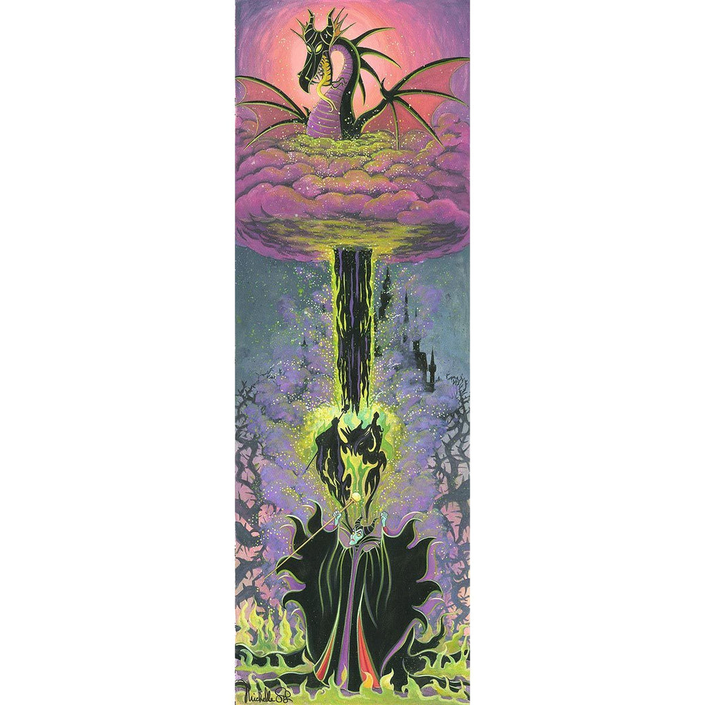 Disney Fine Art Maleficent's Transformation