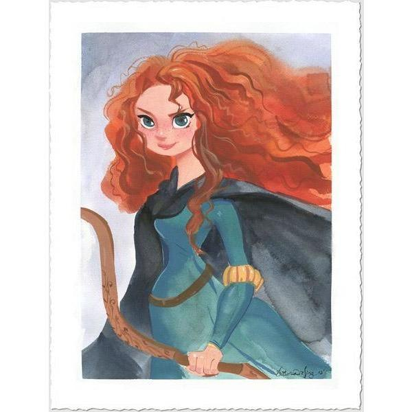 Disney Fine Art Merida