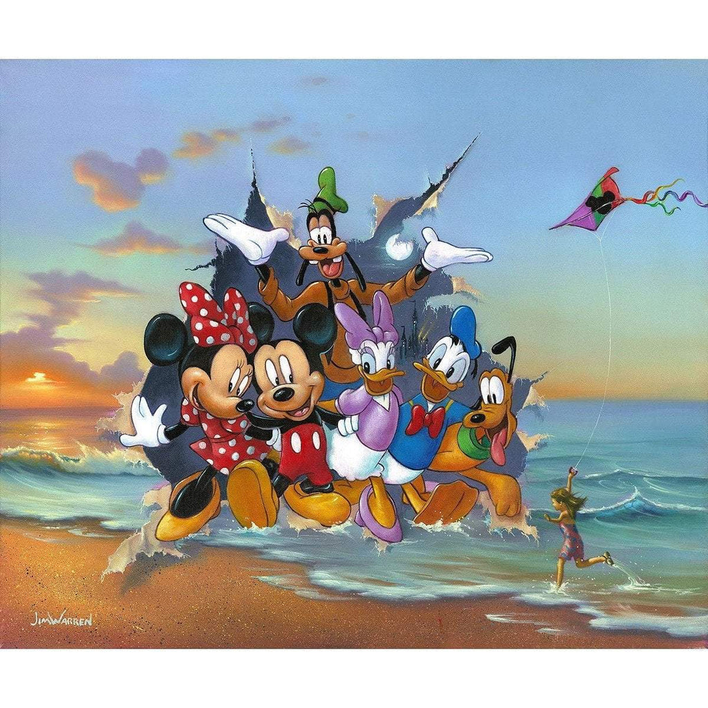 Disney Fine Art Mickey and the Gang's Grand Entrance