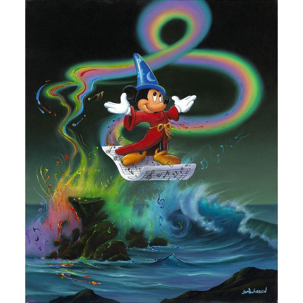 Disney Fine Art Mickey Making Magic