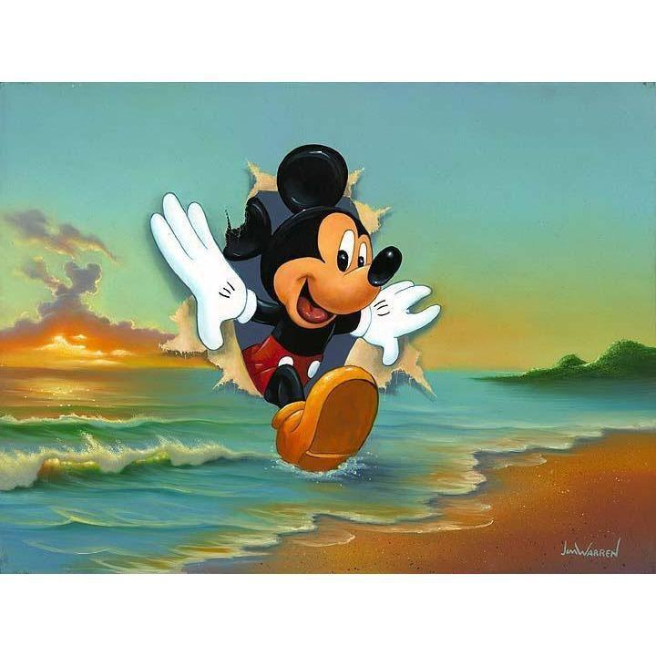Disney Fine Art Mickey's Grand Entrance