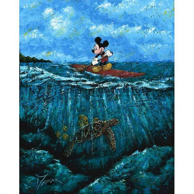 Disney Fine Art Mickey's Summer