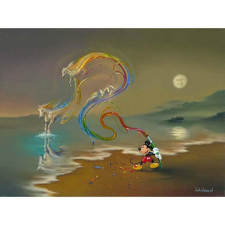 Disney Fine Art Mickey The Artist