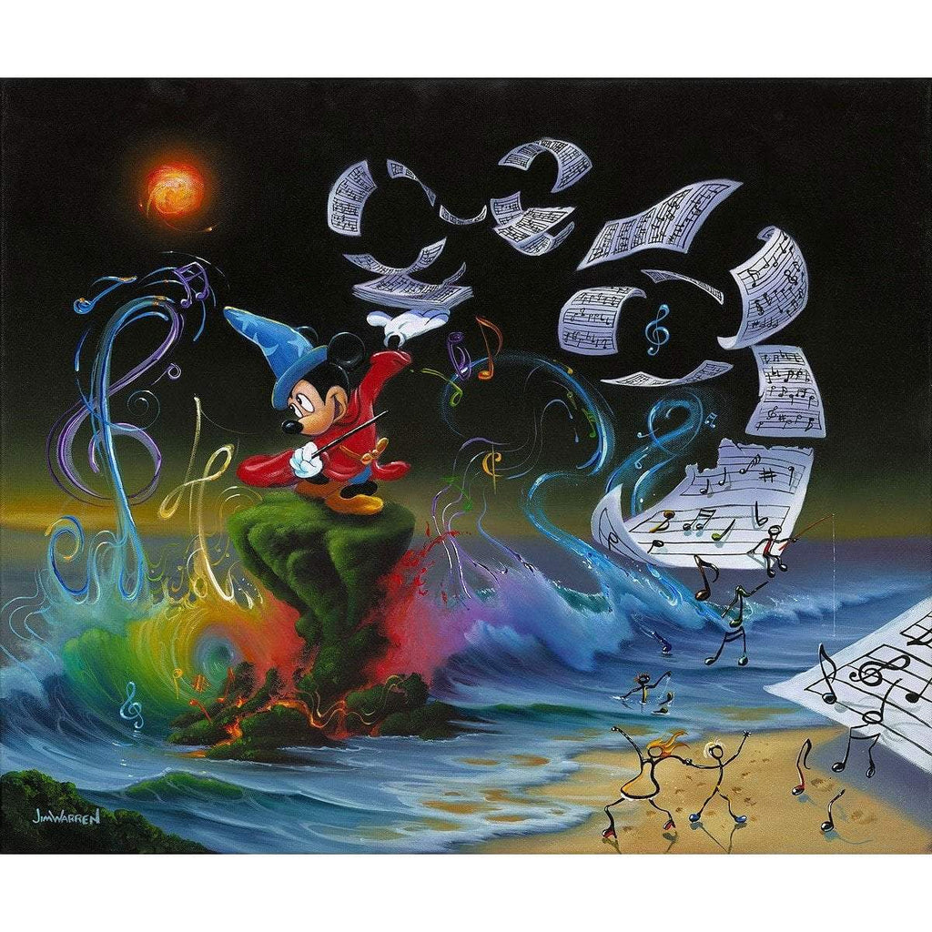 Disney Fine Art Mickey the Composer Premiere