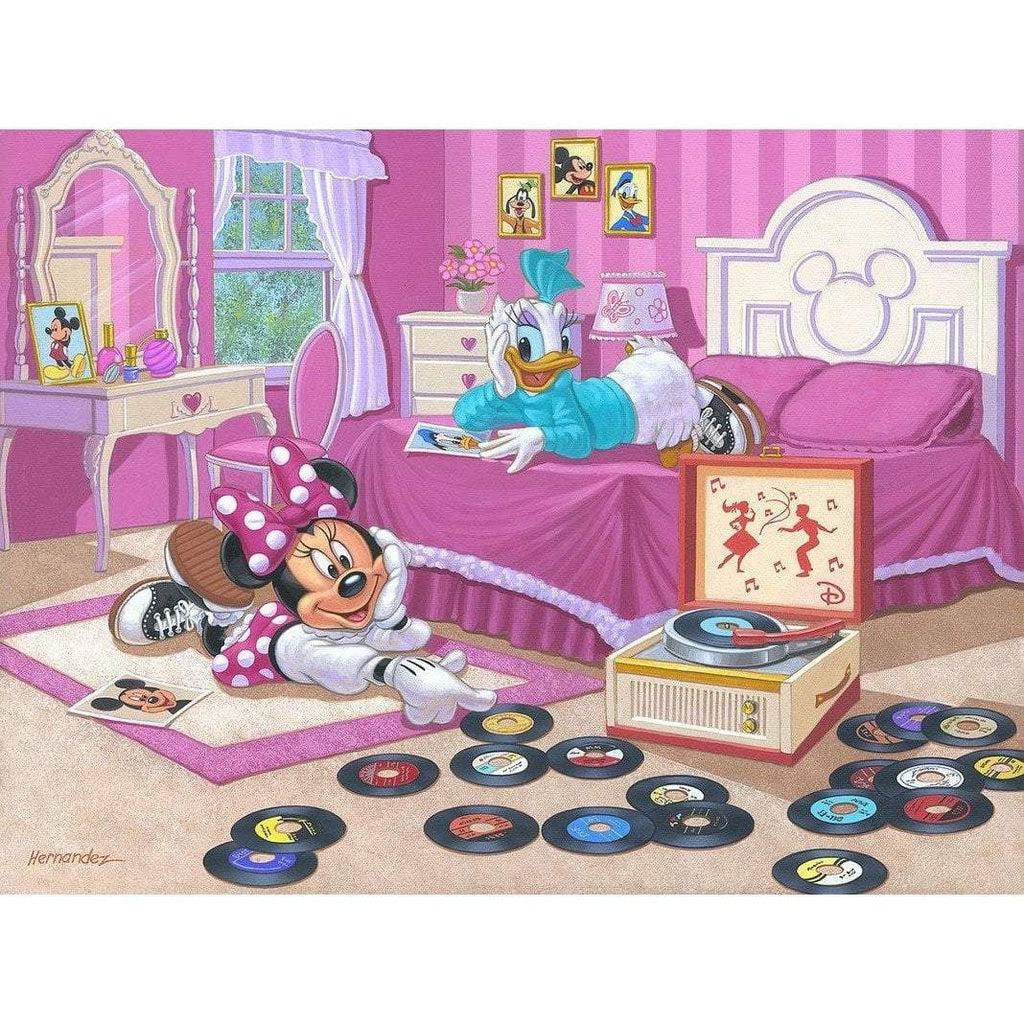 Disney Fine Art Minnie and Daisy's Favorite Tune