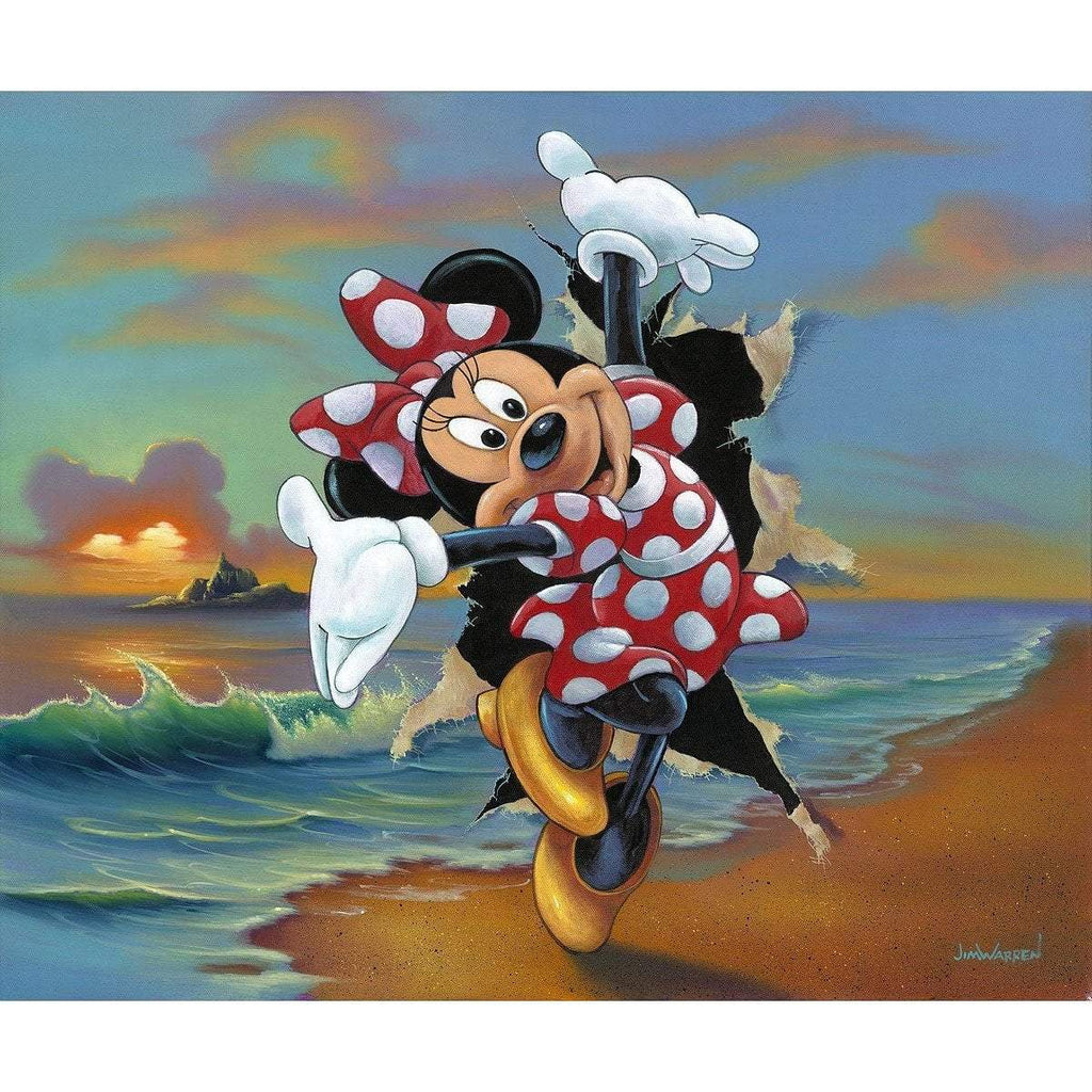 Disney Fine Art Minnie's Grand Entrance