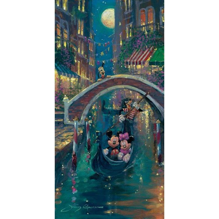Disney Fine Art Moonlight In Venice