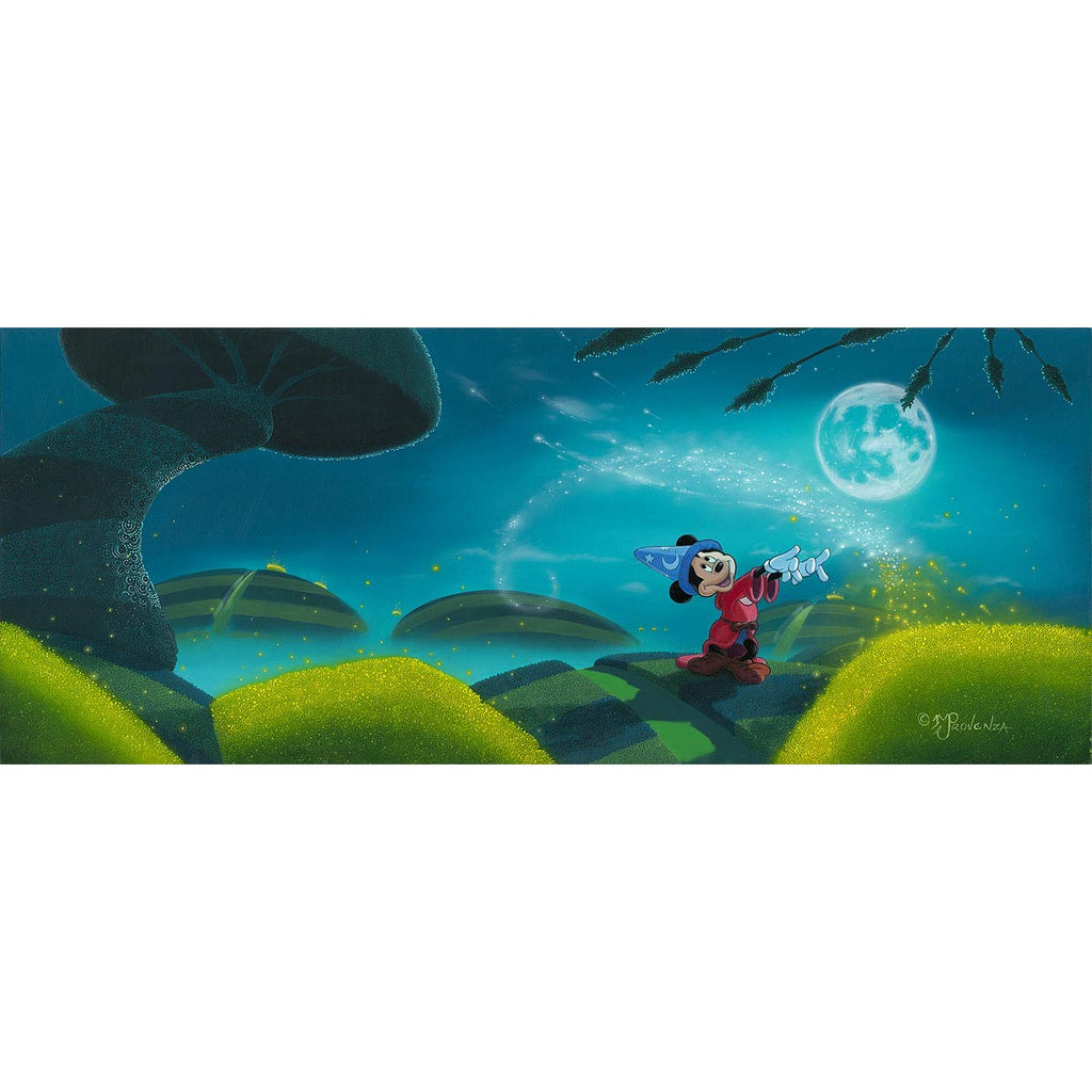 Disney Fine Art - Moonlit Magic
