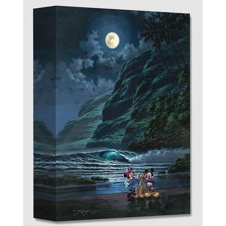 Disney Fine Art Moonlit Portrait