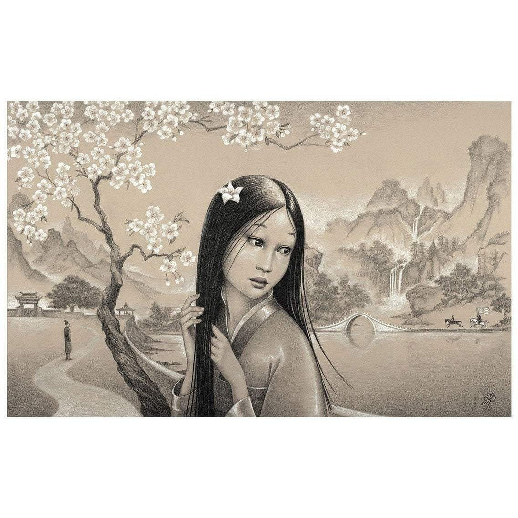 Disney Fine Art Mulan Premiere Edition