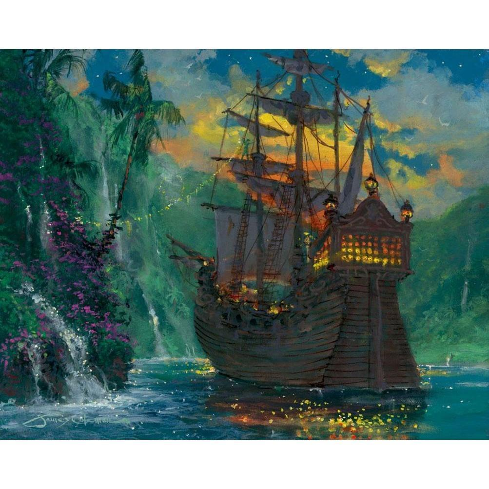 Disney Fine Art Neverland Bay