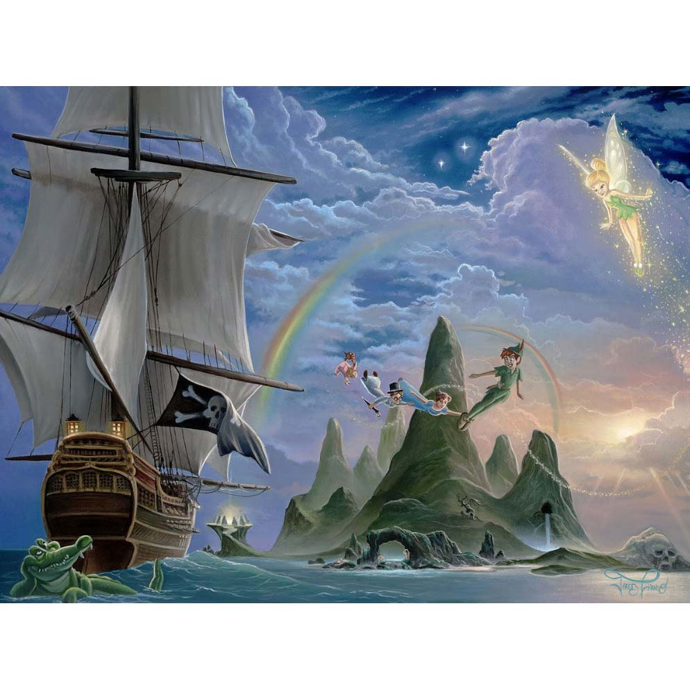 Disney Fine Art - Neverland Unveiled