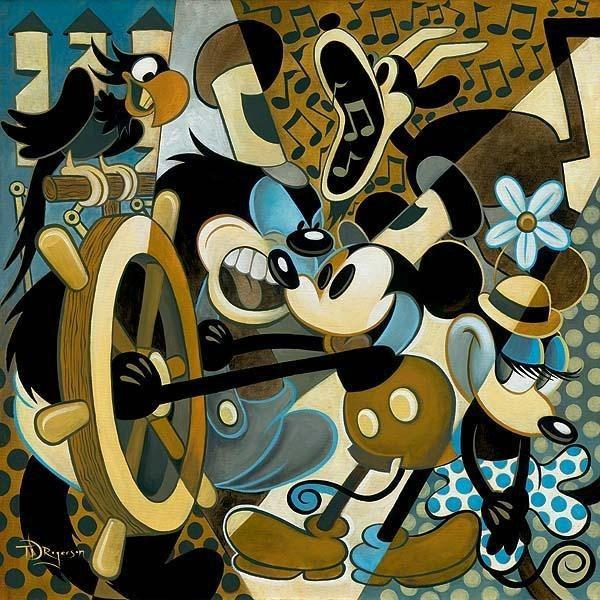 Disney Fine Art Of Mice And Music