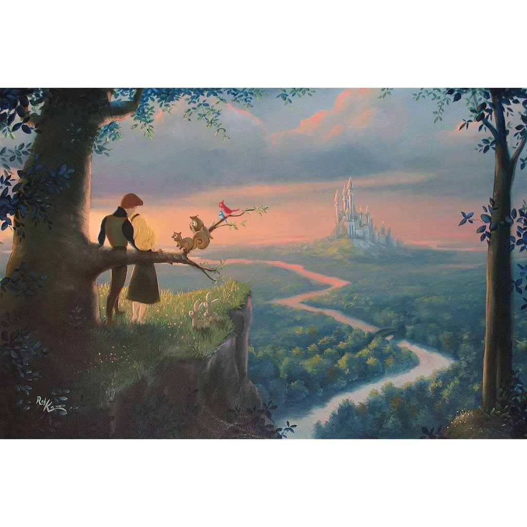 Disney Fine Art Our Royal Kingdom