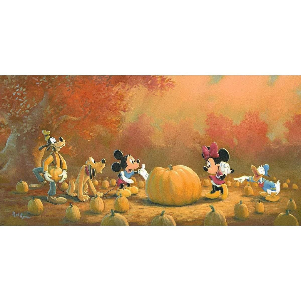 Disney Fine Art Picking the Perfect Pumpkin