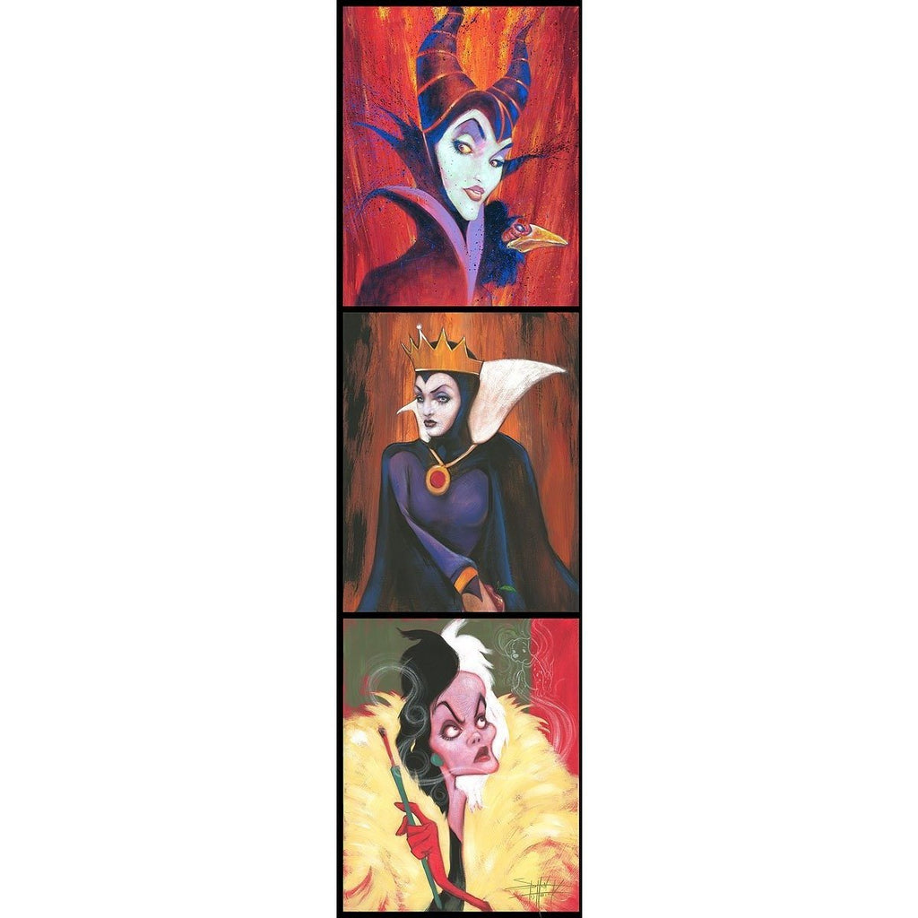 Disney Fine Art Queens of Madness