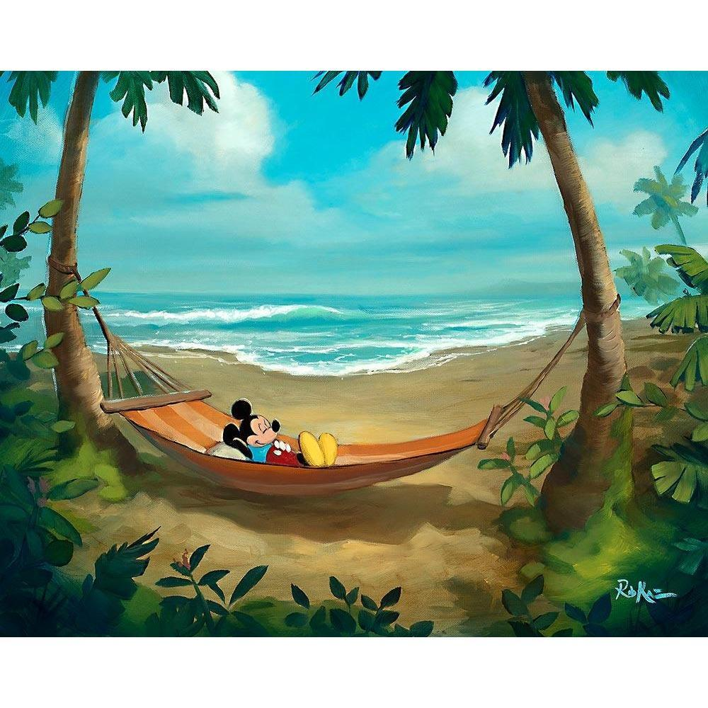 Disney Fine Art Rest and Relaxation