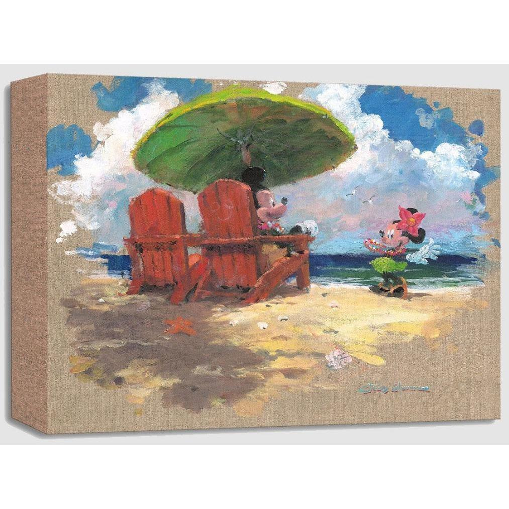 Disney Fine Art Shorefront Hula
