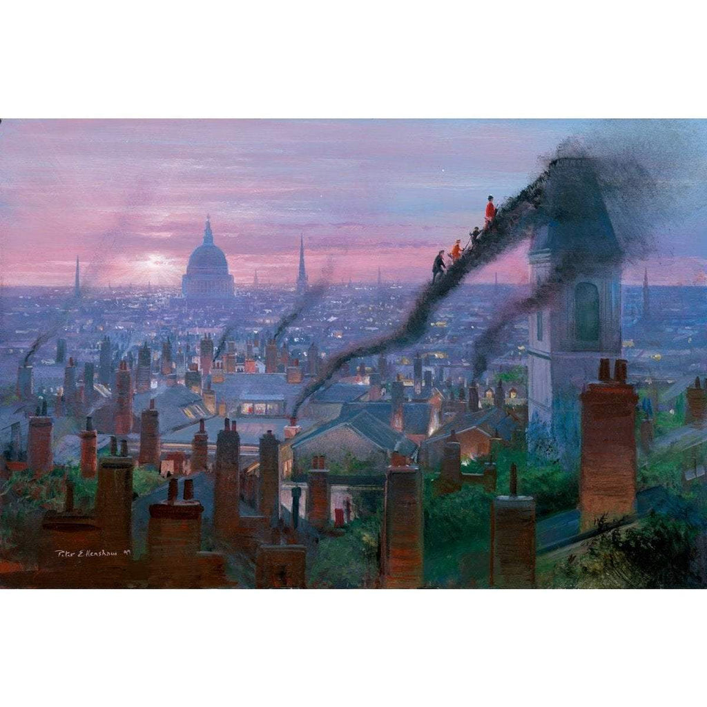 Disney Fine Art Smoke Staircase