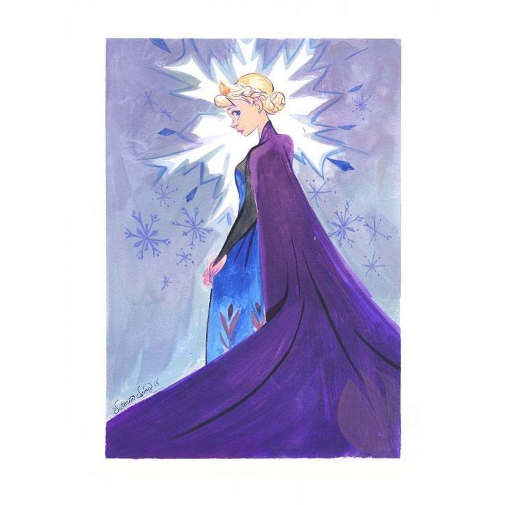 Disney Fine Art Snow Queen