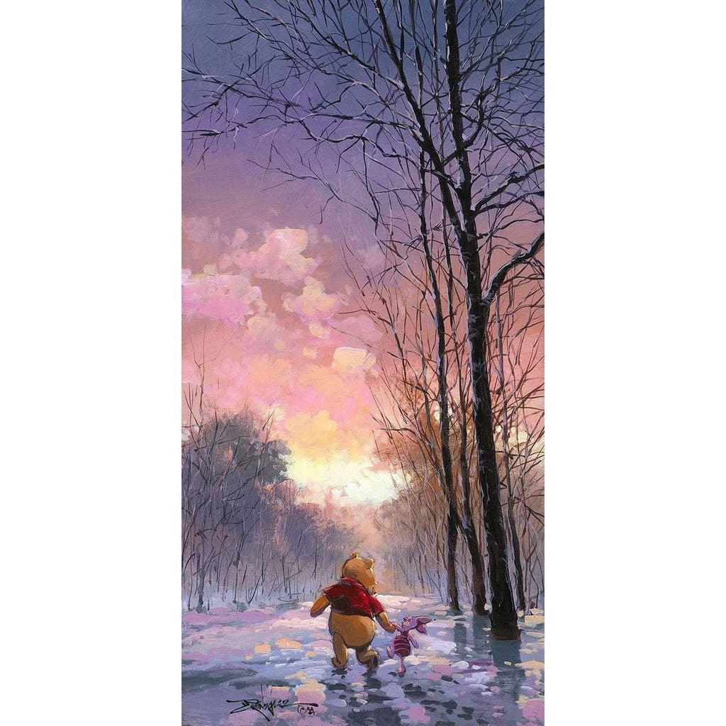 Disney Fine Art Snowy Path Premiere Edition