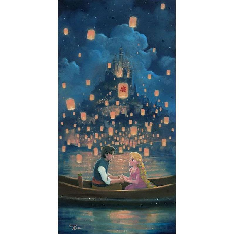Disney Fine Art Star Crossed Love