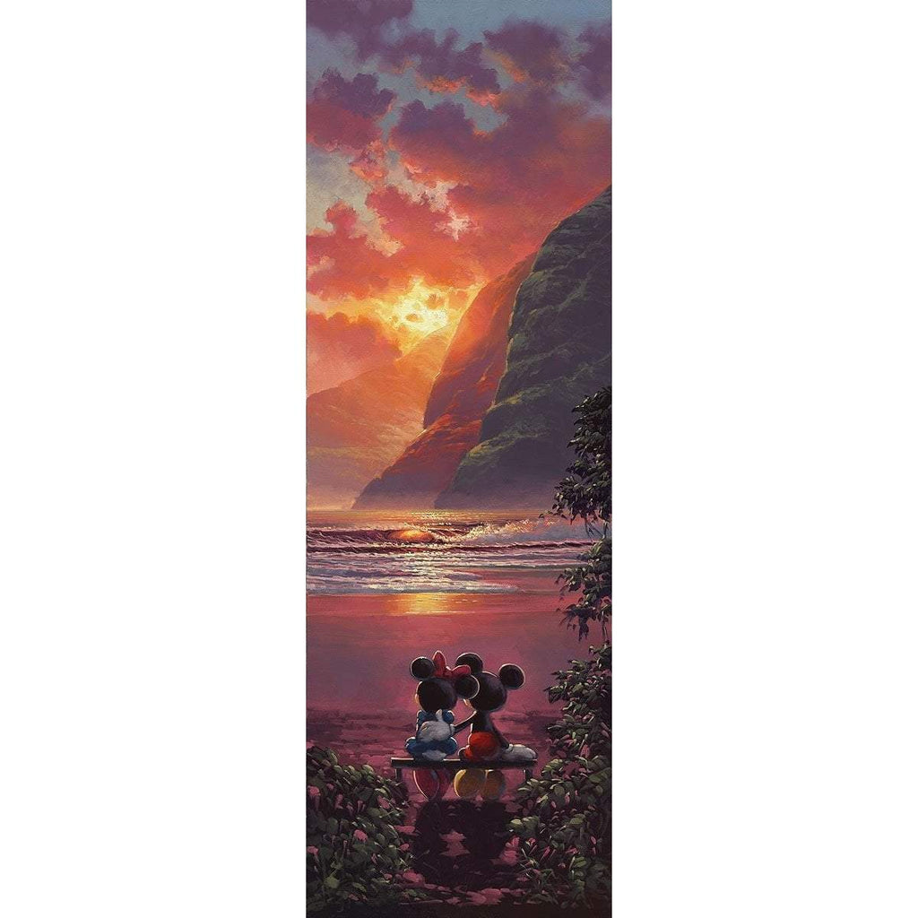 Disney Fine Art Sunset Romance Premier Edition